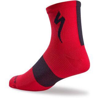 Specialized SL Mid Socks, red - Radsocken