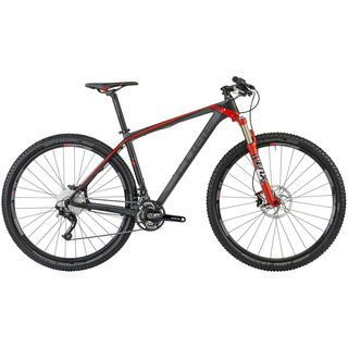 Cube Reaction GTC SL 29 2013, carbon grey red - Mountainbike