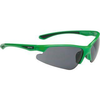 Alpina Levity, green/Lens: ceramic mirror black - Sportbrille