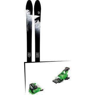 Set: Icelantic Sabre 89 2018 + Tyrolia Attack² 13 GW green