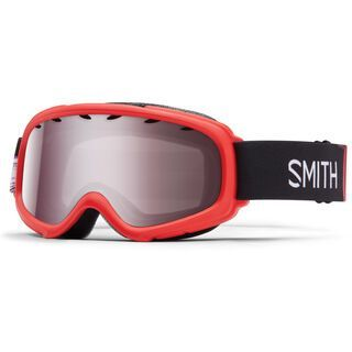 Smith Gambler Air, red angry birds/ignitor mirror - Skibrille