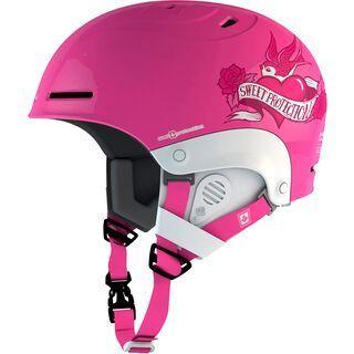 Sweet Protection Blaster Kids, shock pink - Skihelm