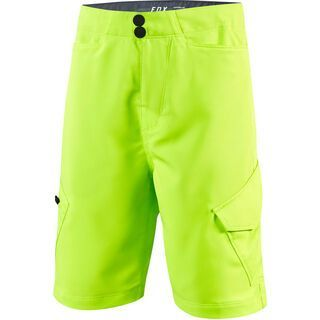 Fox Youth Ranger Cargo Short with Liner, fluorescent yellow - Radhose