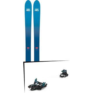 Set: DPS Skis Wailer F106 Foundation 2018 + Marker Alpinist 9 black/turquoise