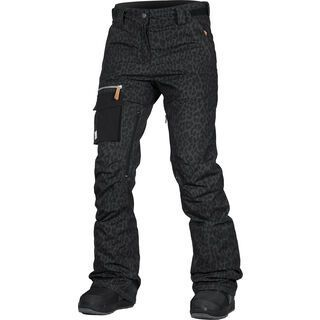 WearColour Slant Pant, black leo - Skihose