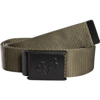 Fox Mr. Clean Web Belt, military - Gürtel