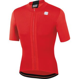 Sportful Strike Short Sleeve Jersey, red/black - Radtrikot