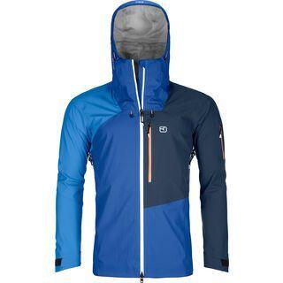Ortovox 3L Merino Naked Sheep Ortler Jacket M, just blue - Skijacke
