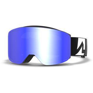 Marker Squadron+ Polarized inkl. WS, black/Lens: blue hd mirror - Skibrille