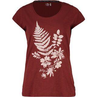 Maloja DortaM., maroon - T-Shirt
