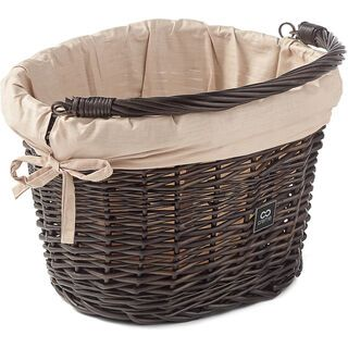 Creme Cycles Wicked Basket Small, brown - Fahrradkorb
