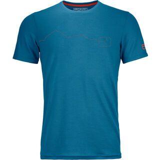 Ortovox 150 Cool Mountain T-Shirt M, blue sea - Funktionsshirt