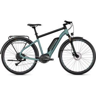 Ghost Hybride Square Trekking B1.8 AL 2019, blue/black - E-Bike