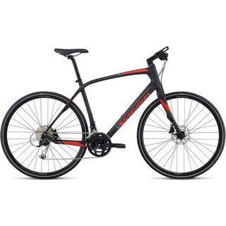*** 2. Wahl *** Specialized Sirrus Sport Carbon 2017, carbon/red/charcoal - Fitnessbike | Größe M // 48,5 cm