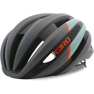 Giro Synthe, mat charcoal frost - Fahrradhelm