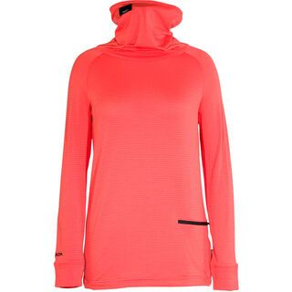 Armada Hideout Midlayer, coral - Funktionsshirt