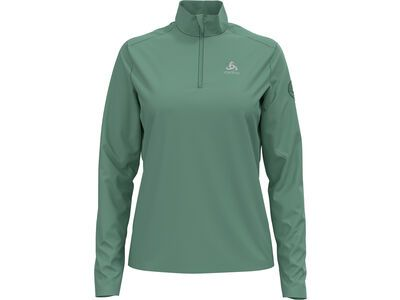 Odlo Women's Pillon 1/2 Zip Midlayer, malachite green - Fleecepullover