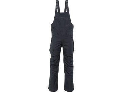 686 Men's Hot Lap Insulated Bib, black - Snowboardhose