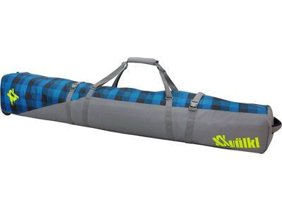 Völkl Free Jumbo Ski Wheel Bag, denim check - Skitasche