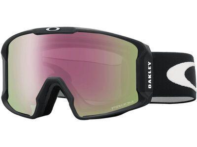 Oakley Line Miner XL Prizm, matte black/Lens: hi pink iridium - Skibrille