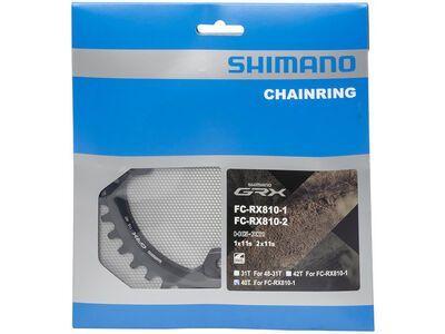 Shimano Kettenblatt für GRX FC-RX810-1 - 110 mm LK, schwarz