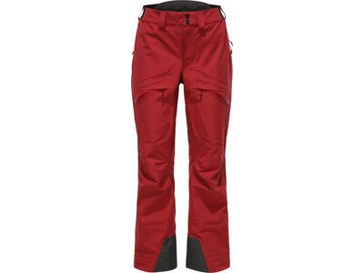 Haglöfs Khione 3L Proof Pant Women, brick red  - Skihose