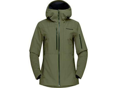 Norrona lofoten Gore-Tex insulated Jacket W's, olive night - Skijacke