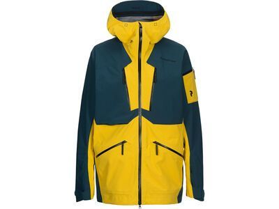 Peak Performance Vertical Jacket desert yellow
