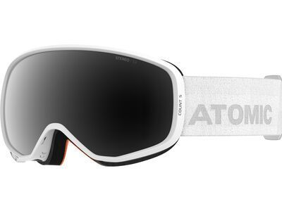 Atomic Count S Stereo, white/Lens: black - Skibrille