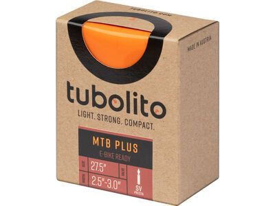 Tubolito Tubo MTB Plus - 27.5 x 2.5-3.0 orange