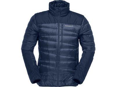 Norrona falketind down750 Jacket M's, indigo night - Daunenjacke