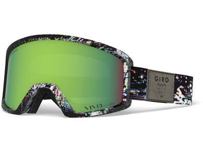 Giro Blok, distortion/Lens: vivid emerald - Skibrille
