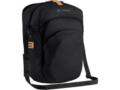 Vaude eBack Single, black - Fahrradtasche