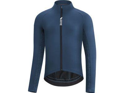 Gore Wear C5 Thermo Trikot orbit blue/deep water blue