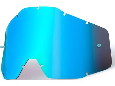 100% Accuri/Strata Youth Replacement Lens, mirror blue