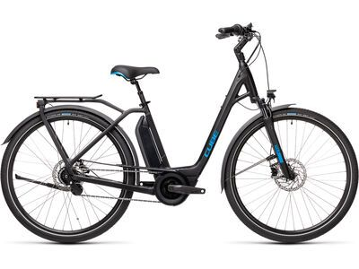 Cube Town Hybrid Pro 500 2021, black´n´blue - E-Bike