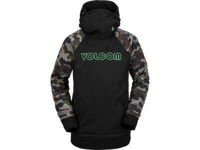 Volcom Hydro Riding Hoodie, army - Fleecehoody