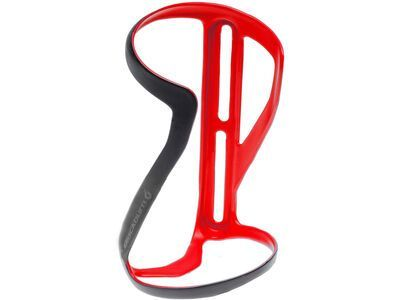 Blackburn Clutch Carbon Side-Entry Bottle Cage Right, matte bright red - Flaschenhalter