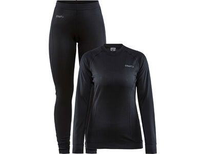 Craft Core Dry Baselayer Set W, black - Unterwäsche-Set