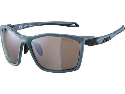 Alpina Twist Five Q-Lite Mirror Black dirtblue matt