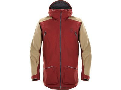 Haglöfs Chute II Jacket Men, dark ruby/oak - Skijacke