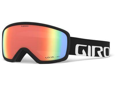 Giro Ringo, black wordmark/Lens: vivid infrared - Skibrille
