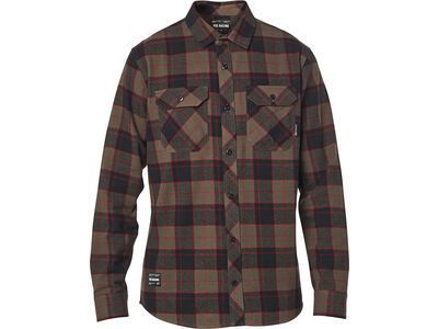 Fox Traildust 2.0 Flannel, dirt - Hemd