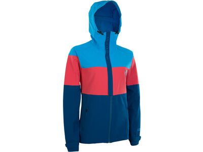 ION Softshell Jacket Shelter Wms, inside blue - Radjacke