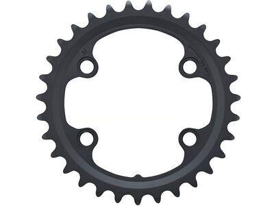 Shimano Kettenblatt für GRX FC-RX810-2 - 80 mm LK, schwarz
