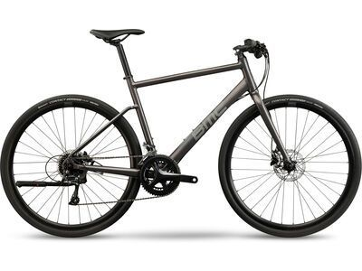 BMC Alpenchallenge Three 2021, metallic anthracite - Fitnessbike