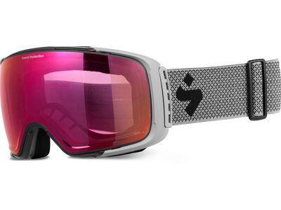 Sweet Protection Interstellar RIG Reflect, nardo gray/Lens: RIG bixbite - Skibrille