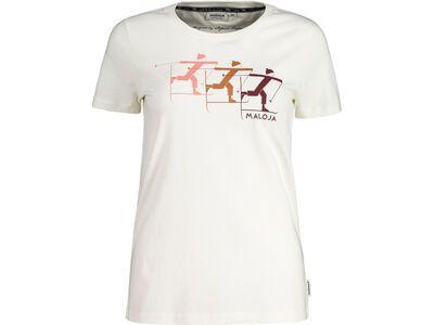 Maloja DuksumM., vintage white - T-Shirt