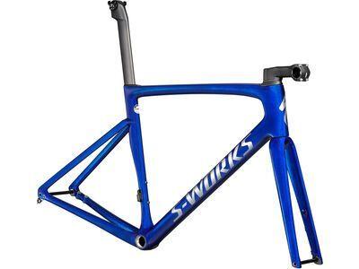 Specialized S-Works Tarmac SL7 Frameset 2021, blue tint/chrome