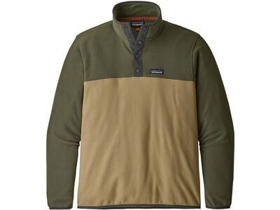 Patagonia Men's Micro D Snap-T Fleece Pullover classic tan